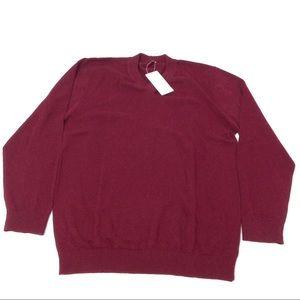 Other - New Men's Red Sweater Vneck XXL Career Work Formal